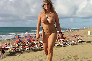 naked in gran canaria