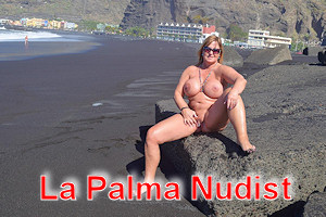 La Palma nudist beach