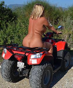 nude biking