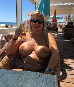 Rather Nude chrissy cap d agde pity, that