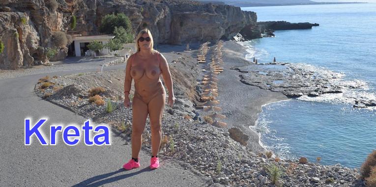 nudism in crete