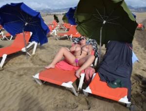 nude in Maspalomas