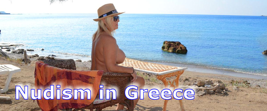nudist in greece